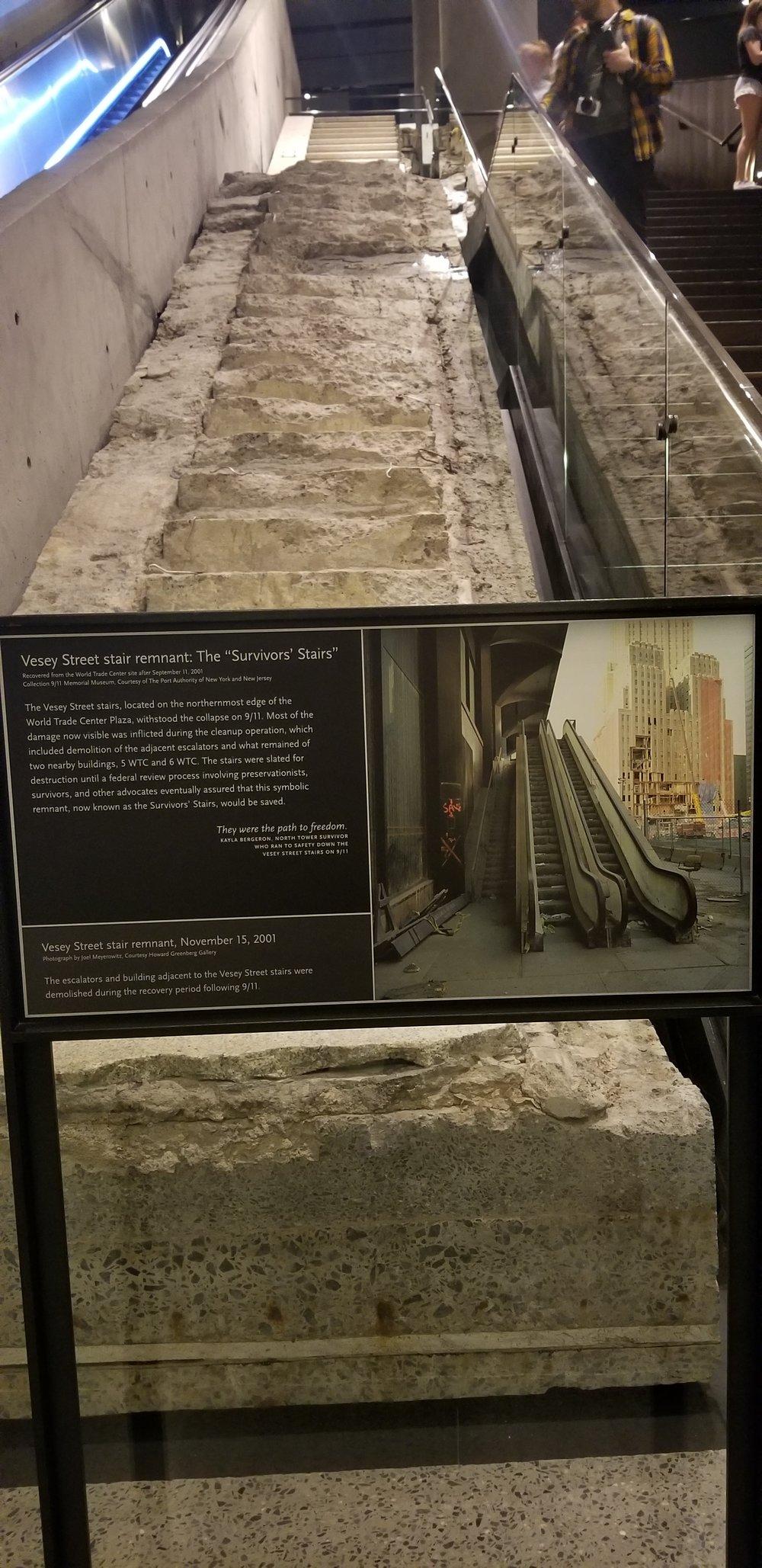 World Trade Center staircase
