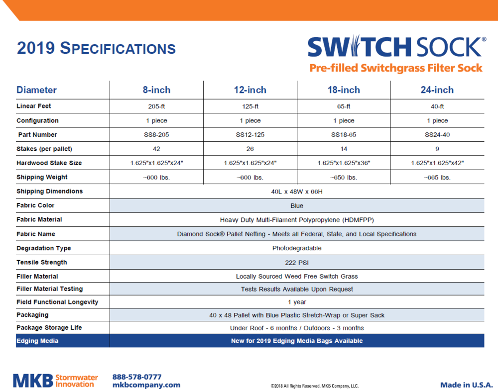 Switch Sock Spec Sheet (PDF)