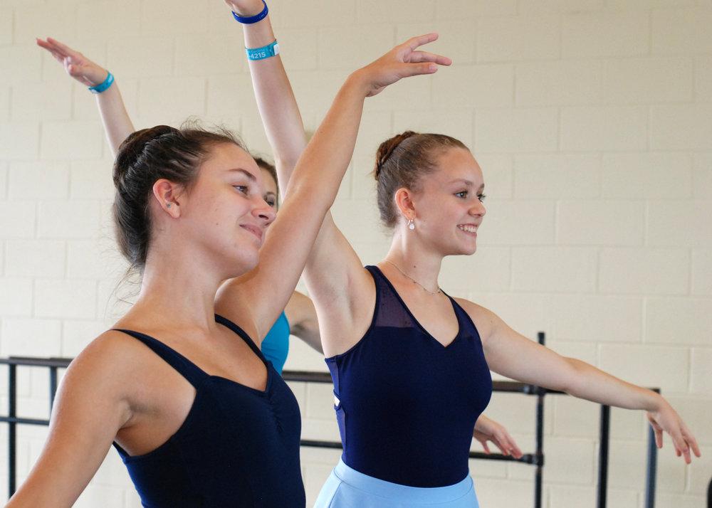 @ USC Dance Studios- pointe class