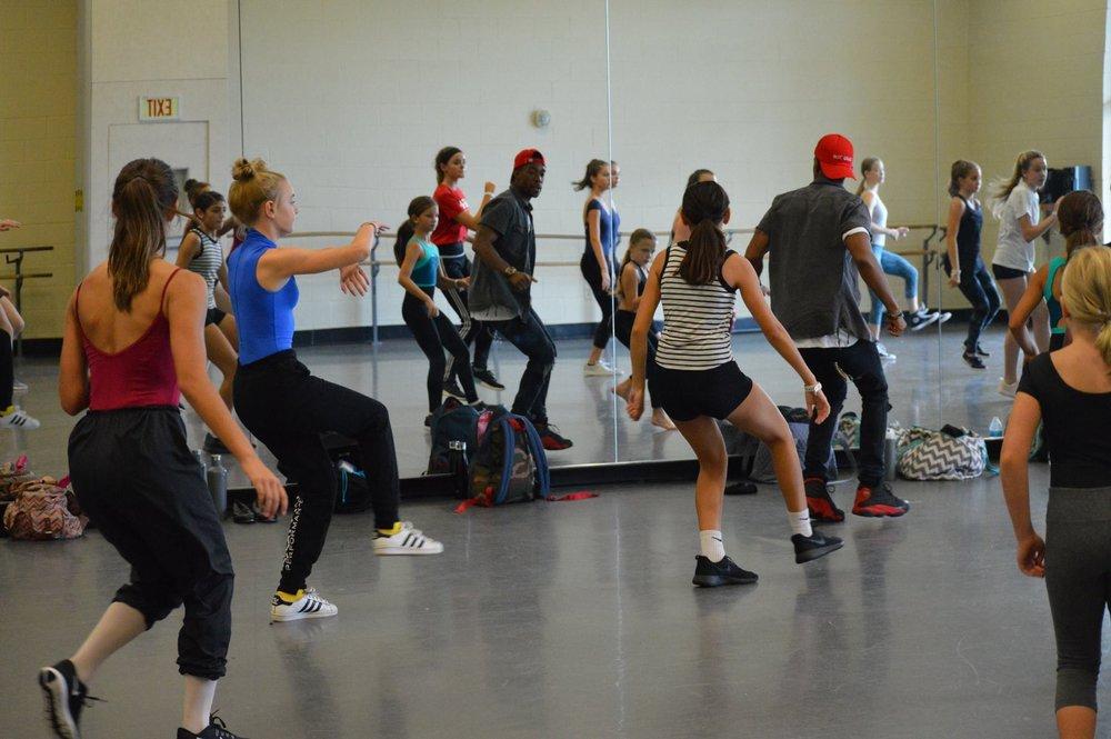 @ USC Dance Studios- hip hop class
