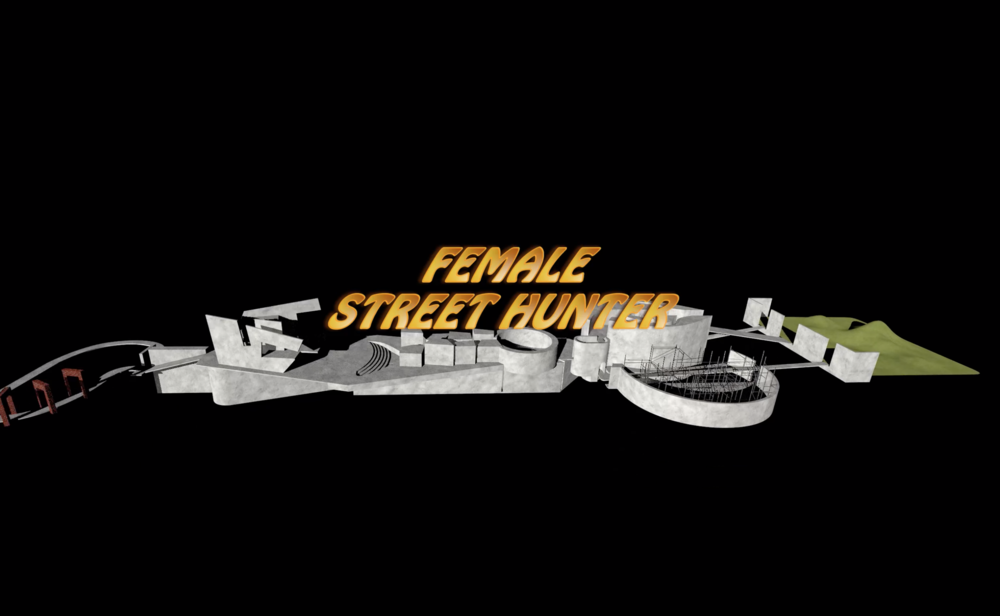 [FEMME] STREET HUNTER — Interactive video