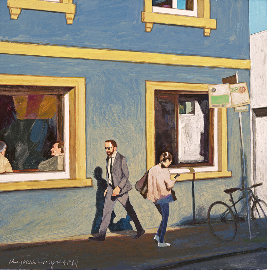 Little Pedestrians  Watercolour 2014