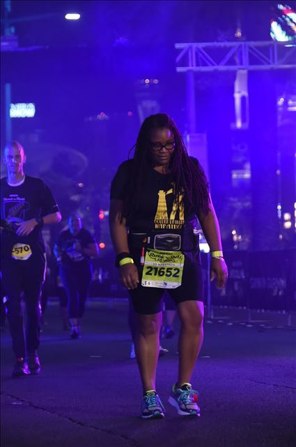 Crossing Finish Line-My 1st Half Marathon