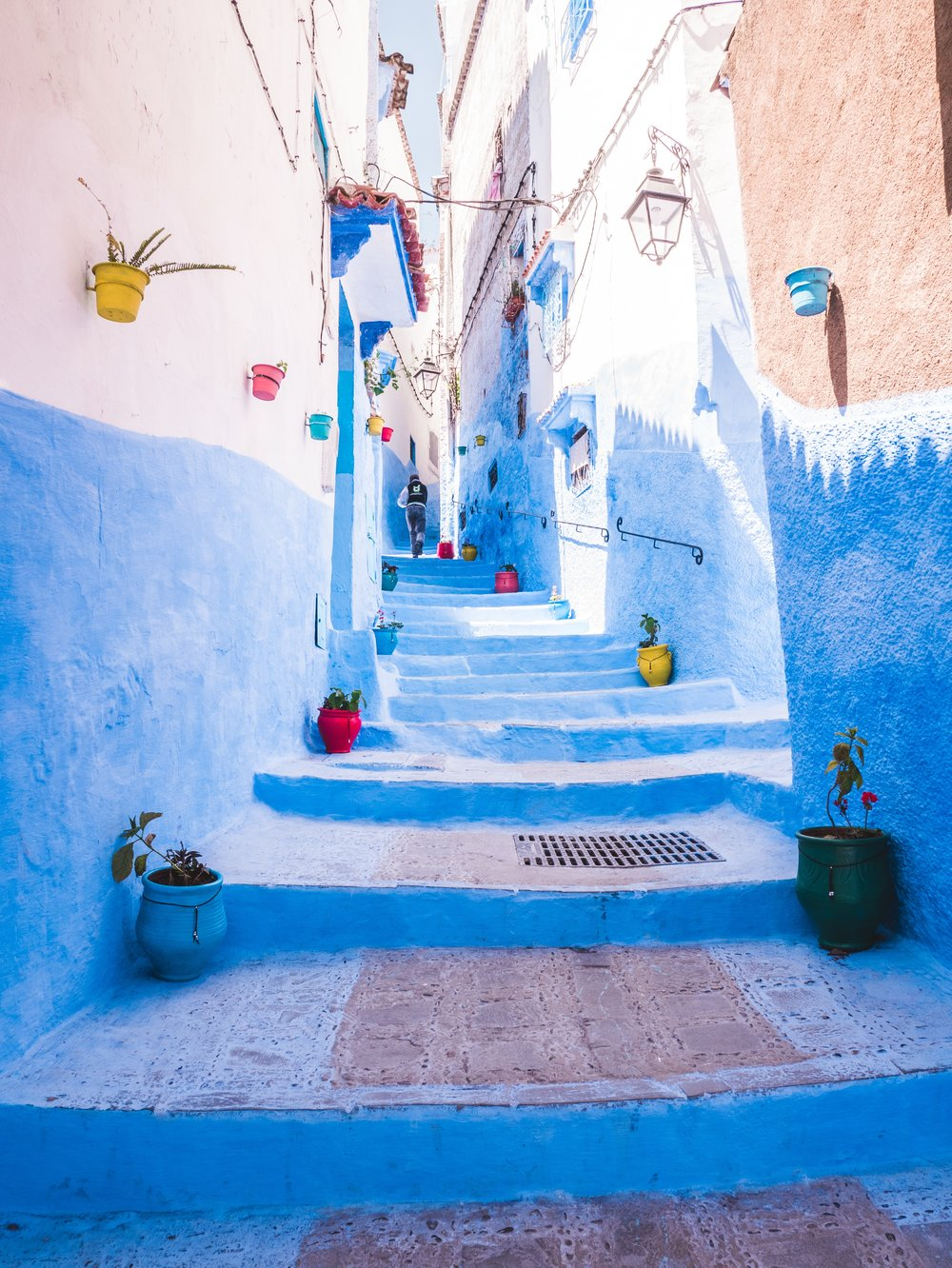 Chefchaouen - If blue is your theme.