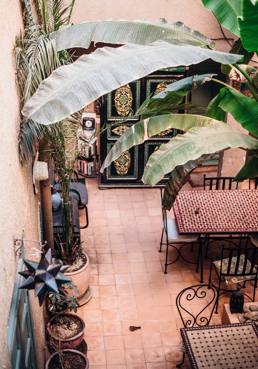 Riad-inspired Courtyards in Marrakech and Fez - For the themed Instagrammer.