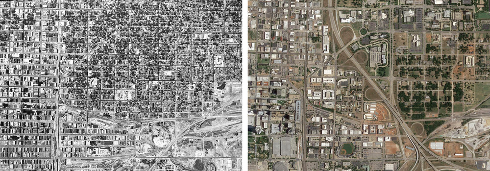 Oklahoma City 1954 vs 2017