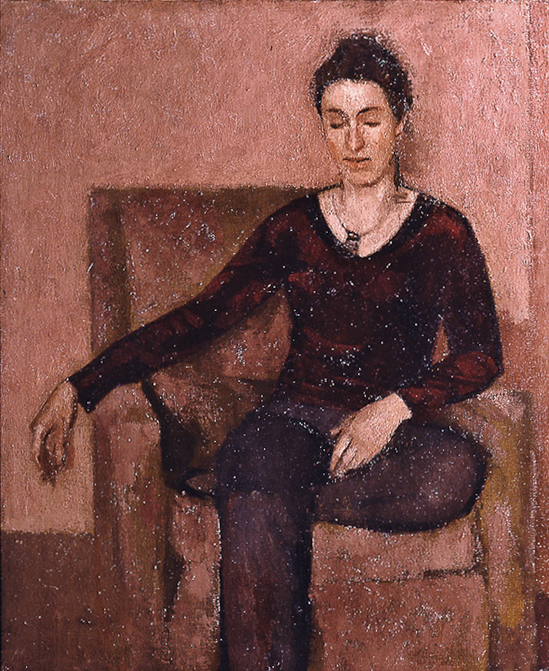 Esther, Oil on Canvas, 61 x 51cm