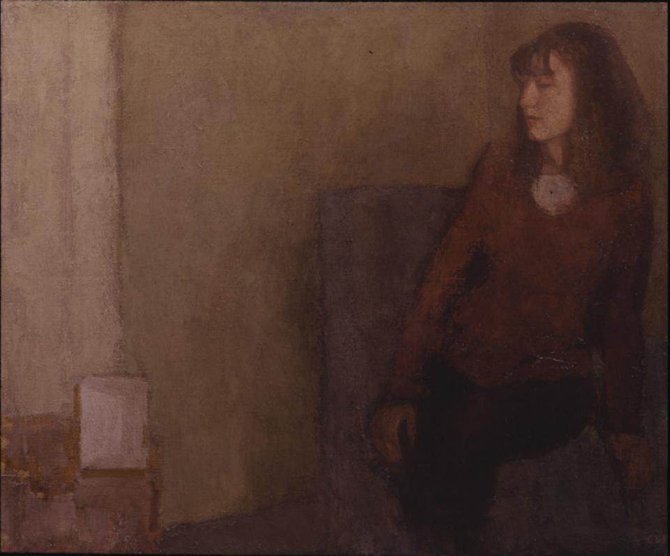 Jill, Oil on Canvas, 46 x 56cm