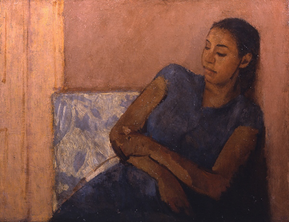 Karima, Oil on Canvas, 46 x 61cm