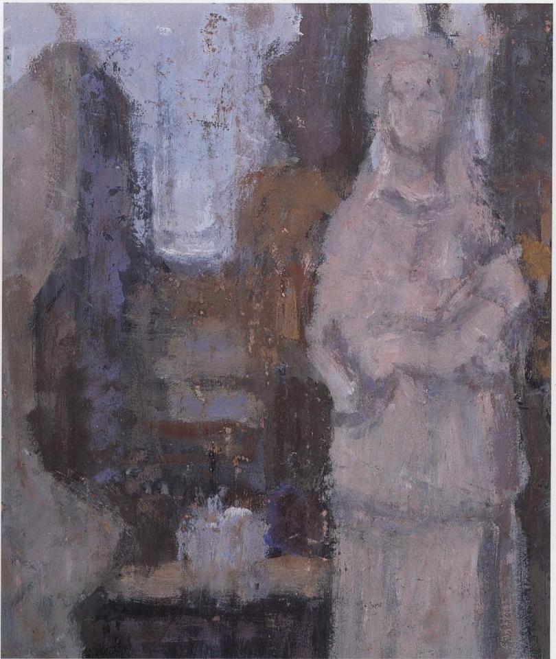 Tangara, Casein Tempera on Card, 38 x 33cm