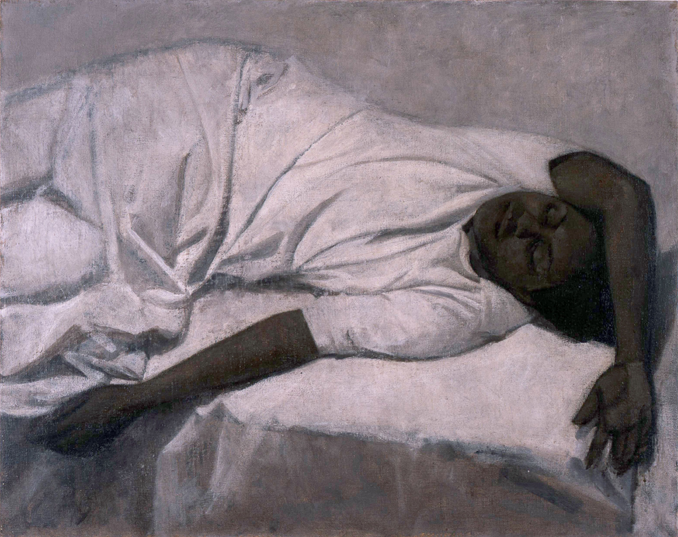 Woman Sleeping, Oil on Canvas, 61 x 76cm