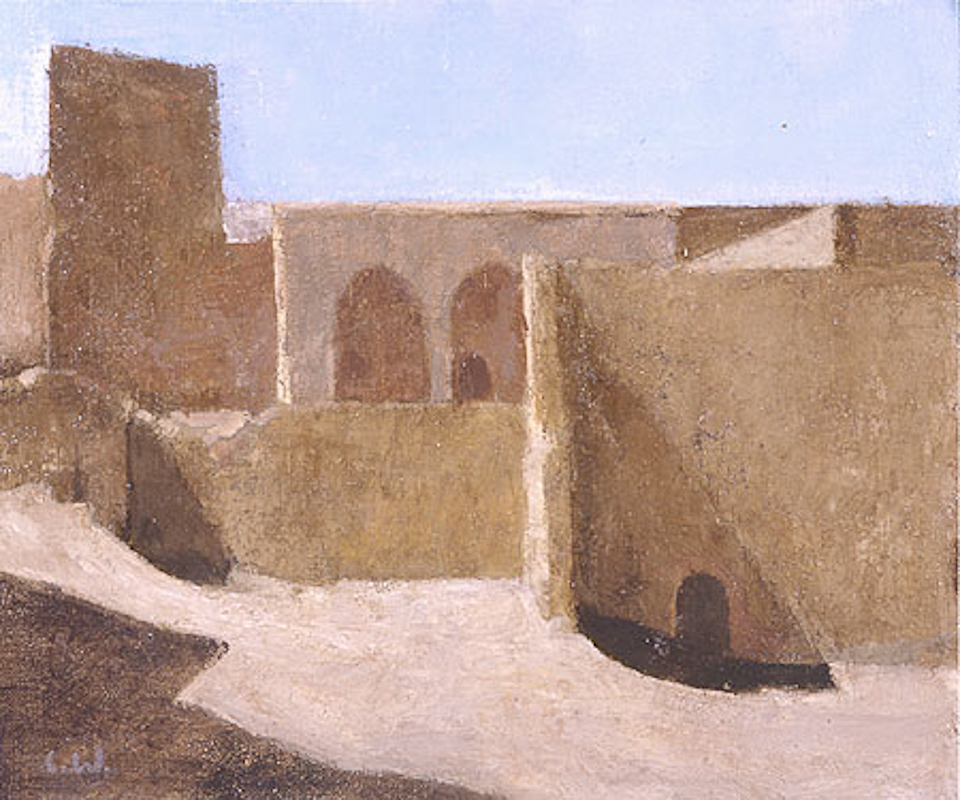 Neglected Kasbah, Oil on Canvas, 25 x 30cm
