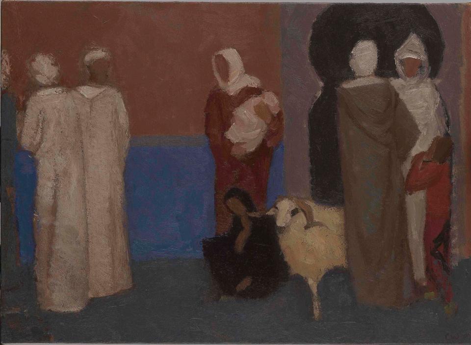 Eid, Oil on Canvas, 33 x 44.5cm