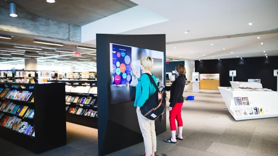 Manivelle @ Grande bibliothèque