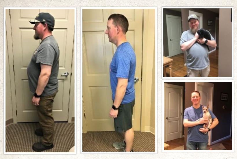 Jesse Botsford   65 pounds lost!