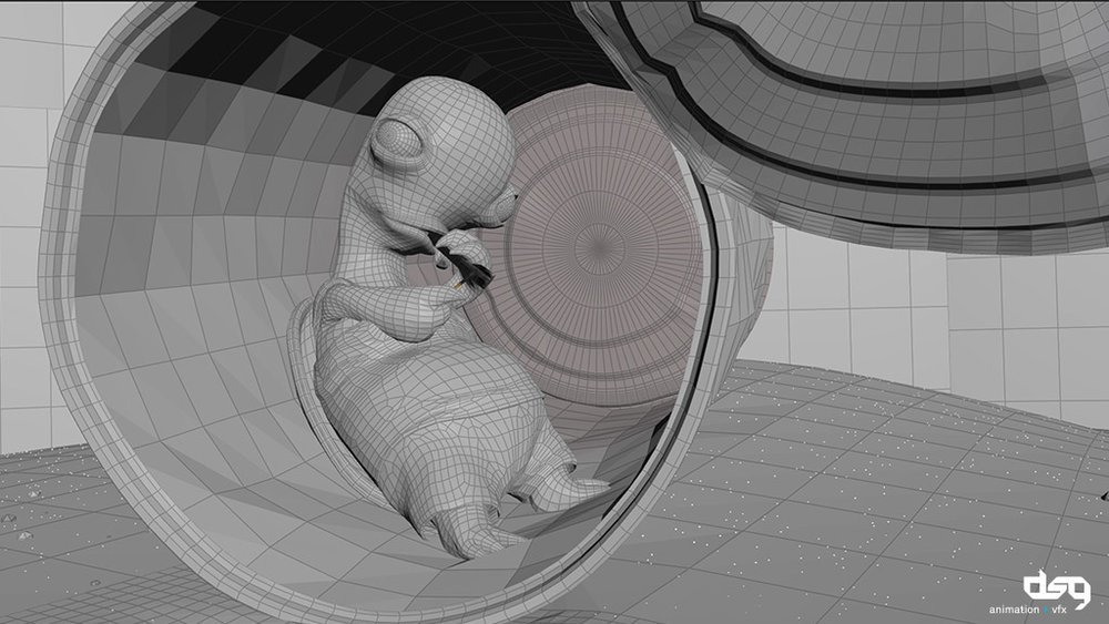 Houdini viewport