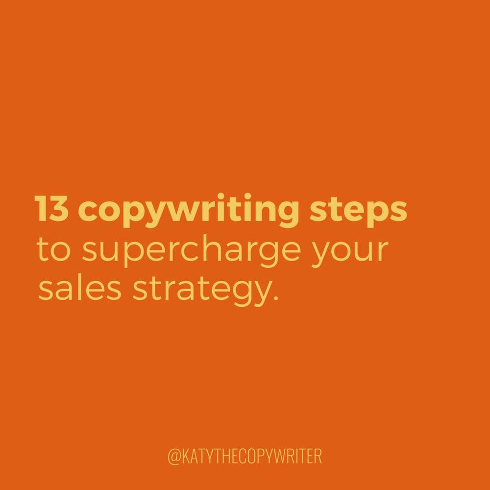 Supercharge your sales copy