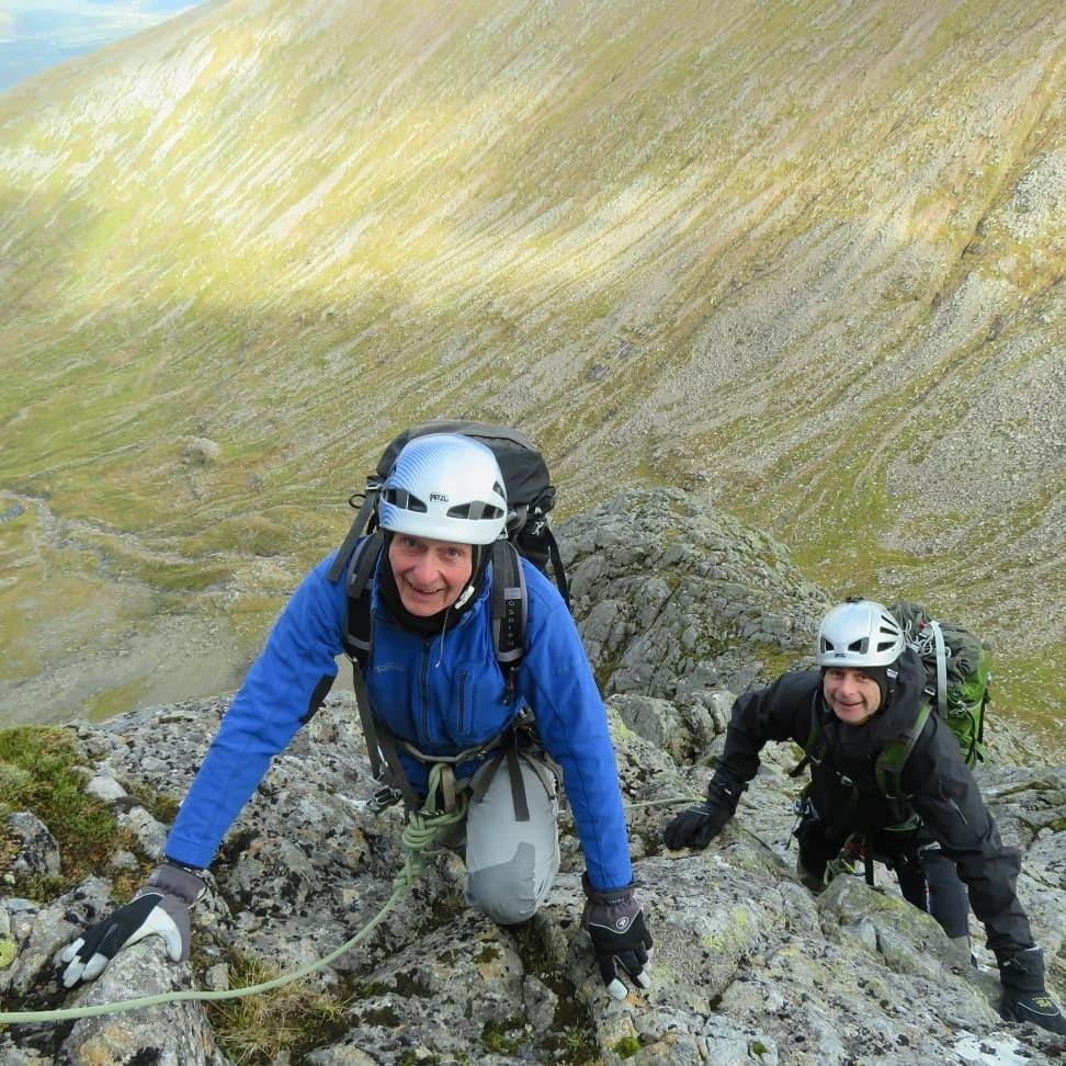 Low down on North East Buttress, Ben Nevis