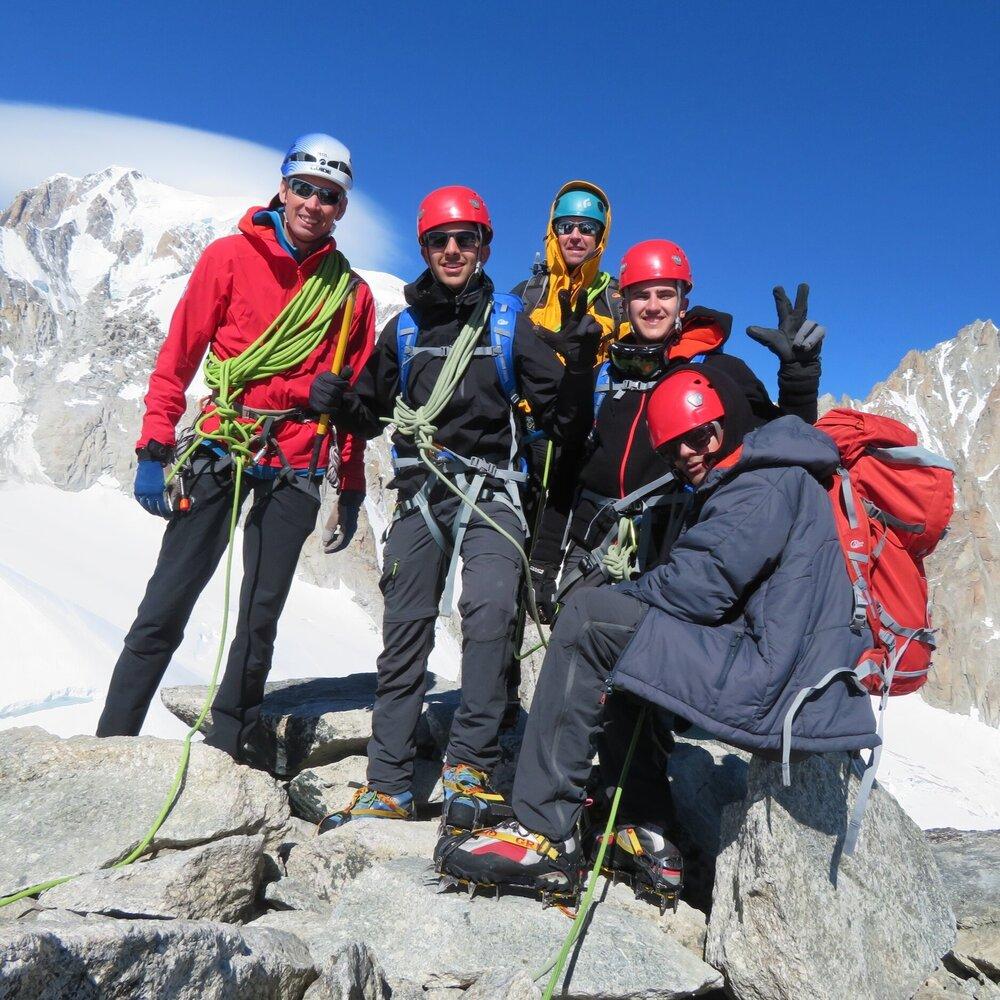 Alpine Climbing -