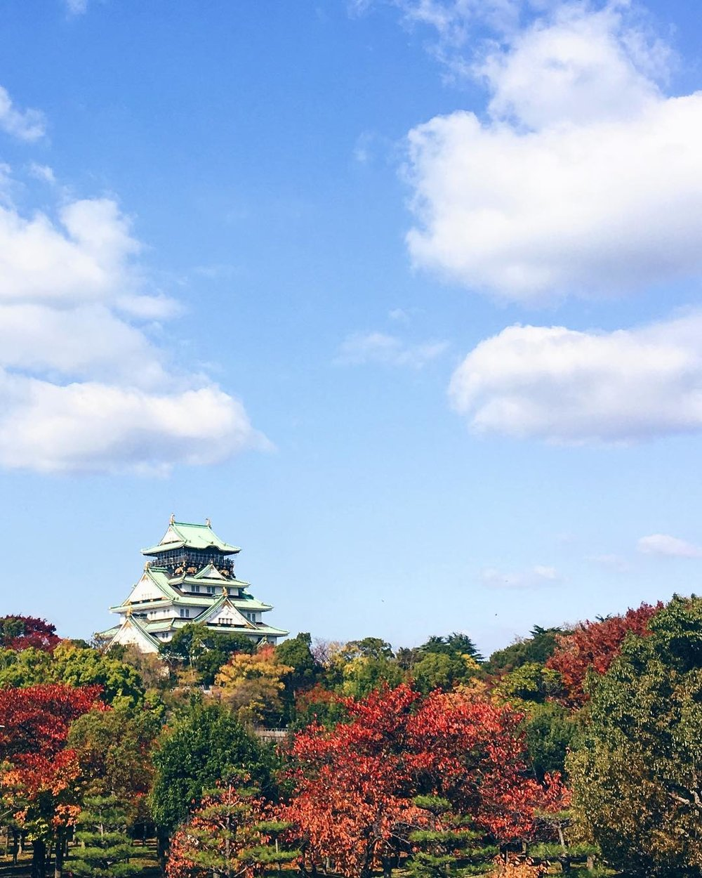 Osaka Castle Park -