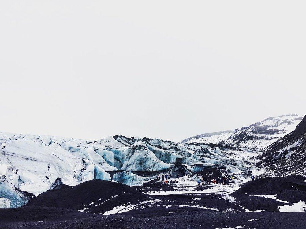 Mýrdalsjökull Glacier -