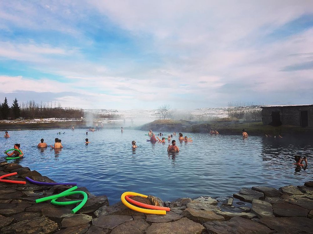 The Secret Lagoon vs. The Blue Lagoon -