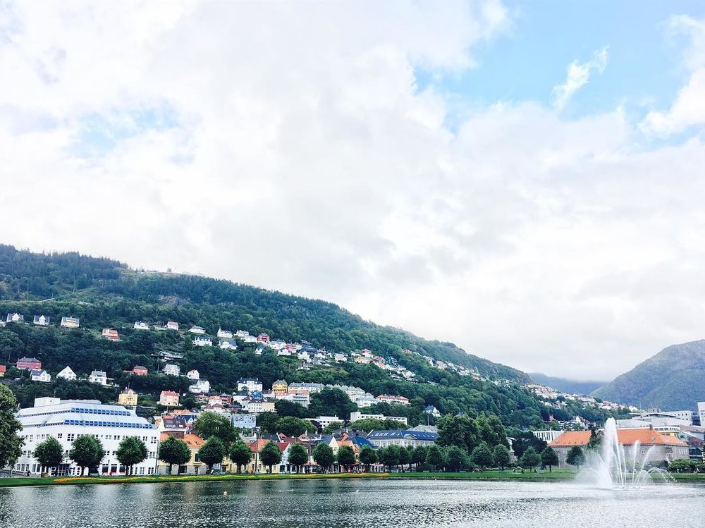 Bergen: A Norwegian City Surrounded by Seven Mountains -