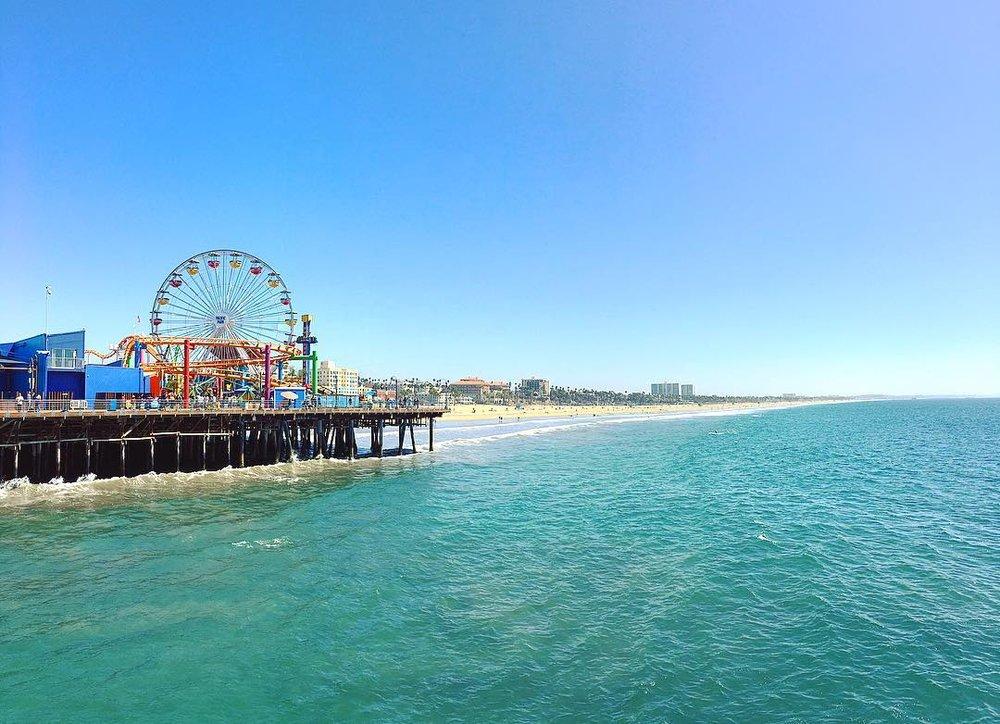 Santa monica & venice beach -