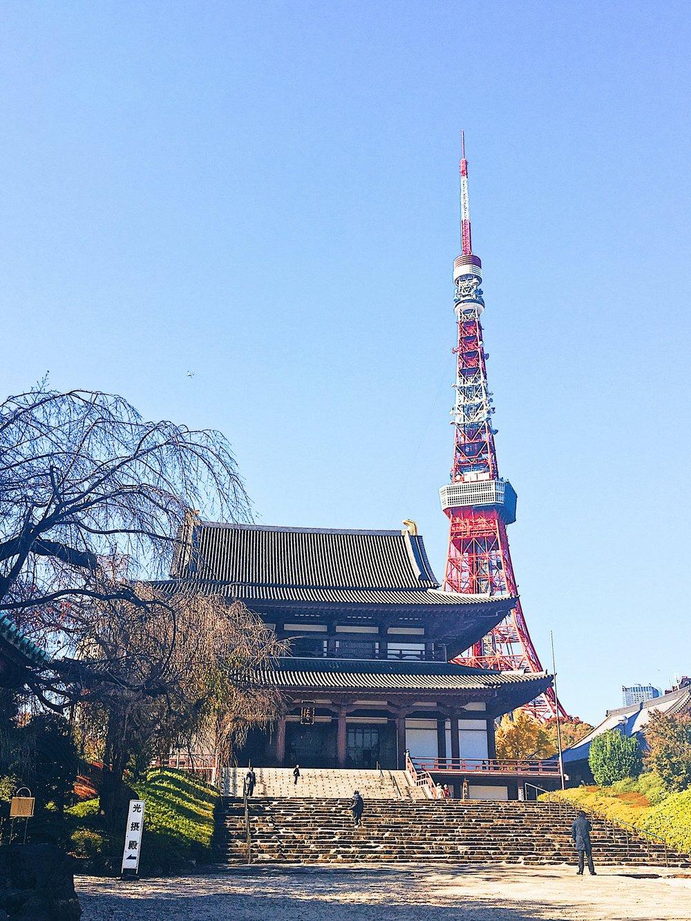 Zozo-ji temple -