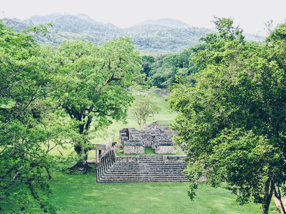 The Copan Ruins -