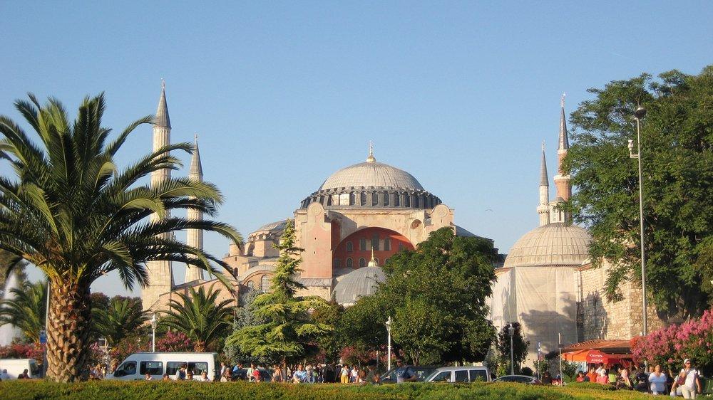The Hagia Sophia -