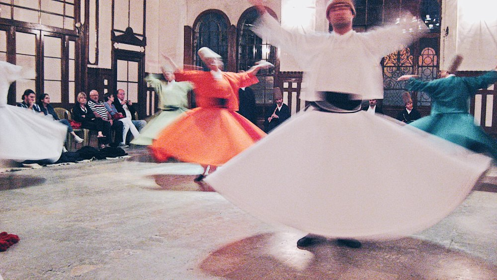 The Whirling Dervishes -