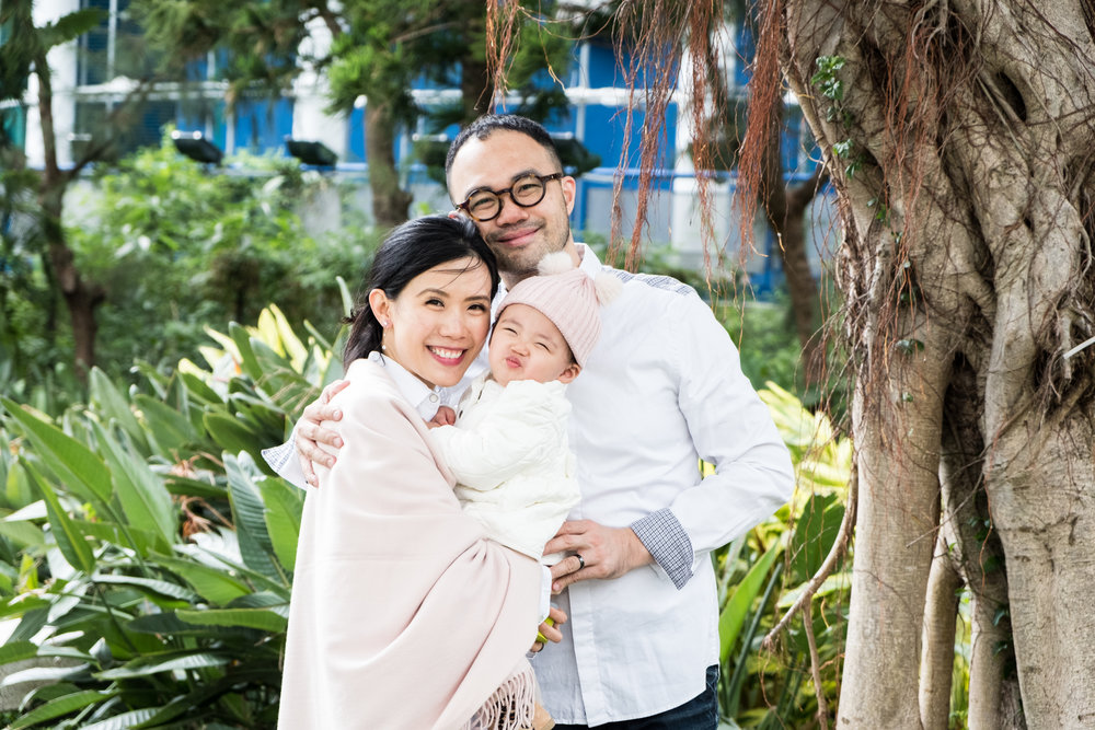 A Holiday Minishoot - What a lovely family! We thoroughly enjoyed shooting these three. Abigail was such a pleasant baby and these two lovebirds just radiated warmth and genuineness so hard to find these days.