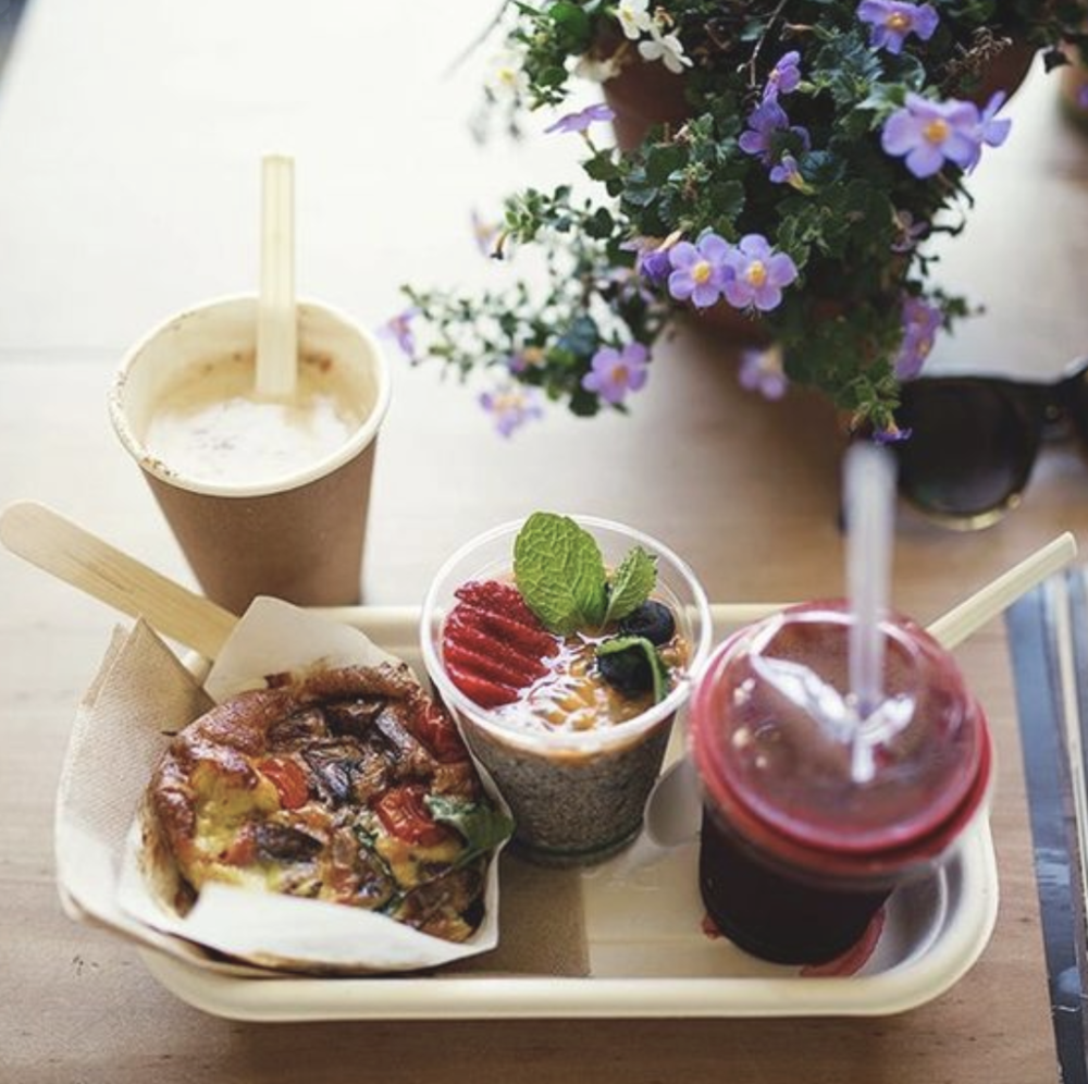 TopShop - Whether your fave morning treat is a berry bircher muesli or a healthy veggie burger, there's something on the menu for you at this awesome spot, grab a seat on the lawn daily before it gets too busy.