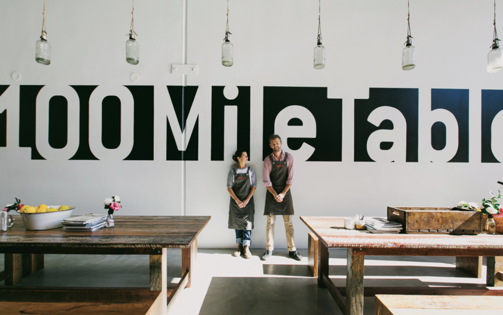 100 Mile Table - A friendly and passionate team cooking up seasonal dishes and good coffee. Situated in the Industrial estate with a co-working space above. The fragrant asian style fish curry and the ginger congee are great!
