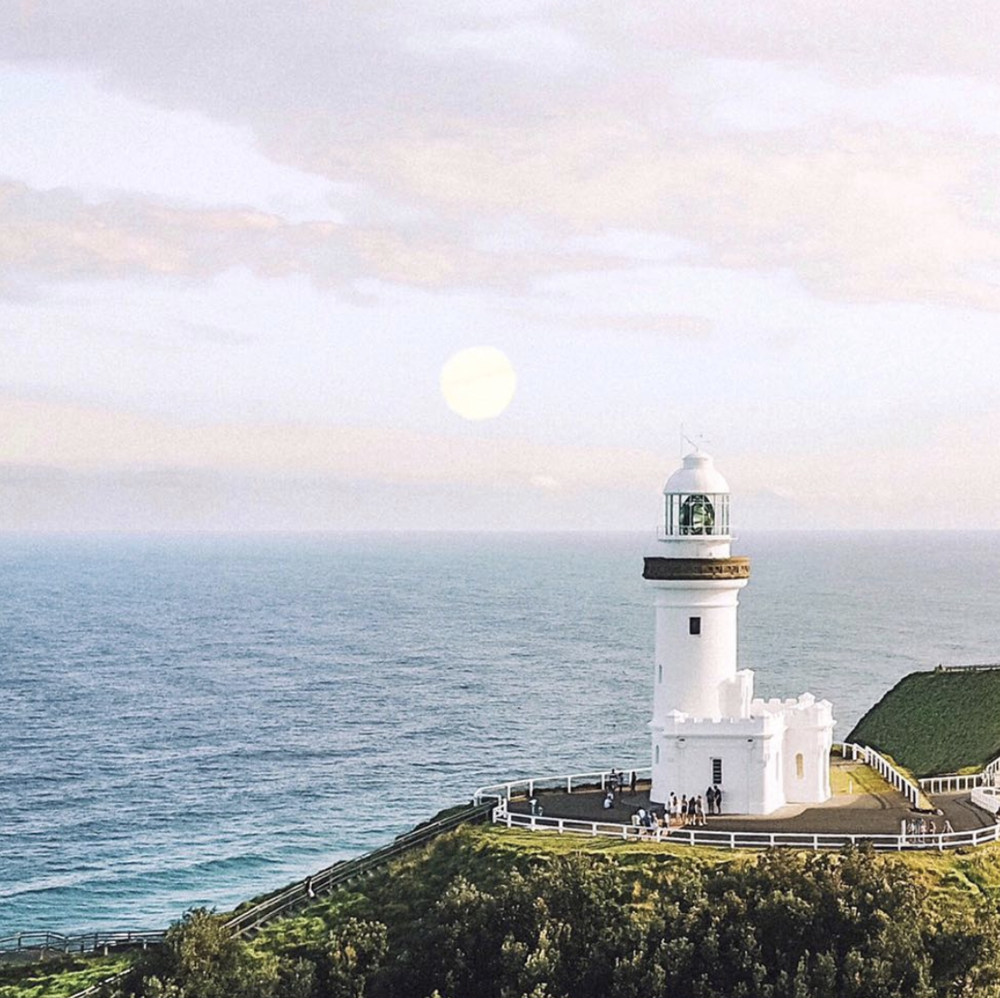 Lighthouse walk - Enjoy spectacular coastal views along the Cape Byron walking track that takes you on a hike through rainforest, beach, grassland and clifftops to the lighthouse.It's a 3.7km loop from town and the best walk in Byron Bay.Go here for the direct route https://www.nationalparks.nsw.gov.au/things-to-do/walking-tracks/cape-byron-walking-track