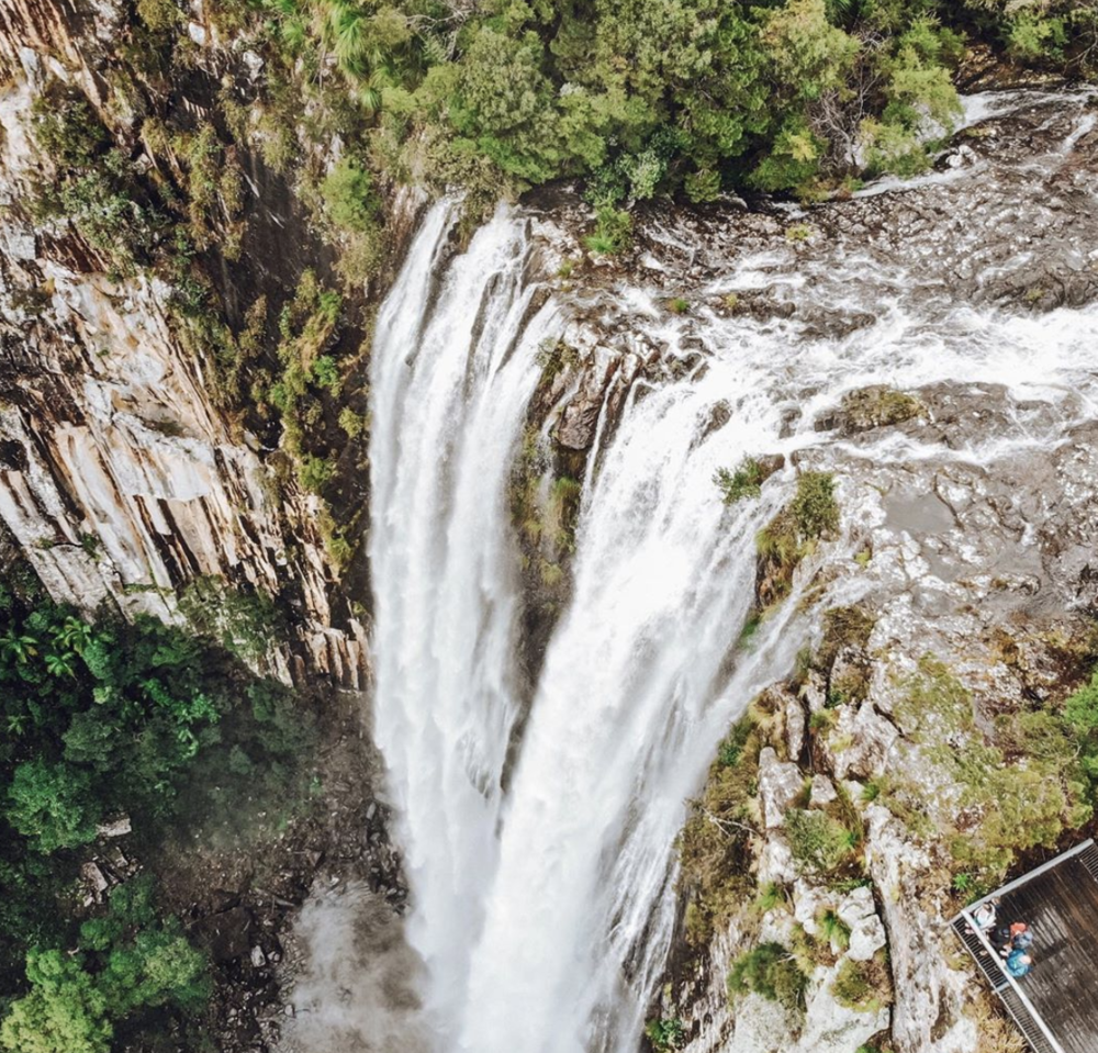 Minyon Falls - Minyon Falls walking track leads through rainforest to a scenic waterfall in Nightcap National Park, in northern NSW.13km return.Go here for the direct route https://www.nationalparks.nsw.gov.au/things-to-do/walking-tracks/minyon-falls-walking-track