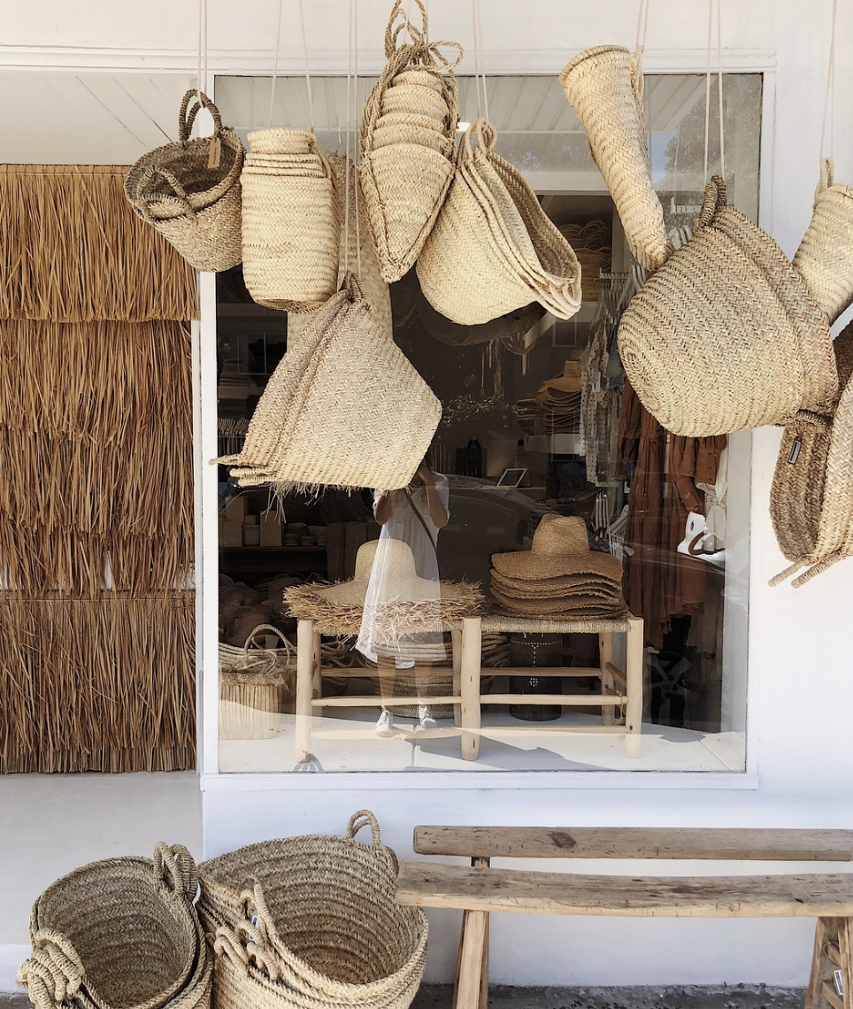 Hope + May - A handpicked collection of items inspired by Byron's coastal lifestyle.From woven sandles and baskets to swim and homewares.