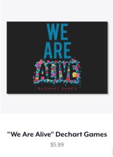We Are Alive Sticker