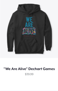 We Are Alive Classic Hoodie