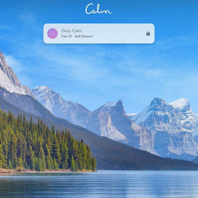 I tried @calm for this weeks #meditationmonday review and I really liked it. It's less clinical, instructional then what I prefer but the calming nature views and background sound effects are really effective and the sleep stories and white noise are lovely. And who doesn't want McConaughey to read them a bed time story? #meditation #atx #atxtherapy