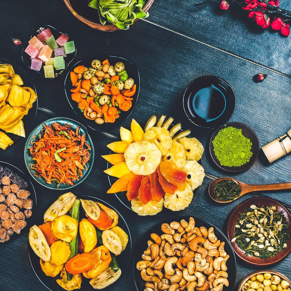 Quà tết nông sản - Toàn bộ sản phẩm có nguồn gốc là đặc sản Đà Lạt và nông sản Việt Nam chất lượng cao. Đây không chỉ là món quà ý nghĩa cho sức khoẻ gửi tặng người thân mà còn là món quà tinh thần to lớn của nông sản Việt Nam