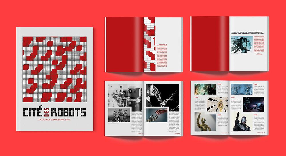 Cité des Robots - Edition Catalogue