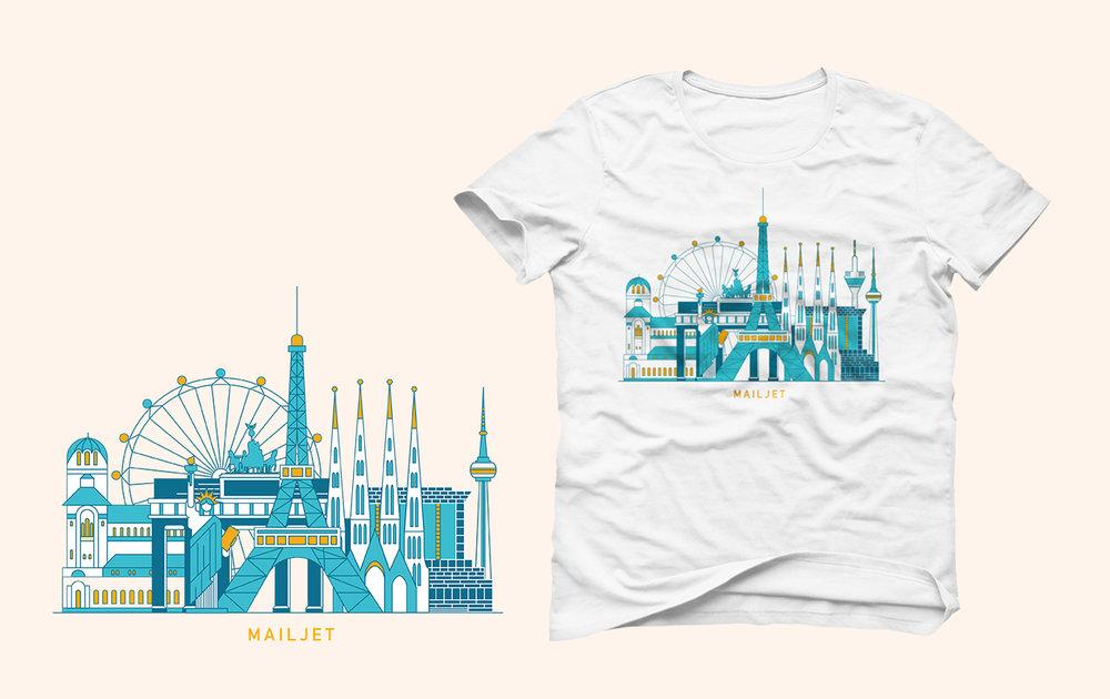 Mailjet - Tee-shirt