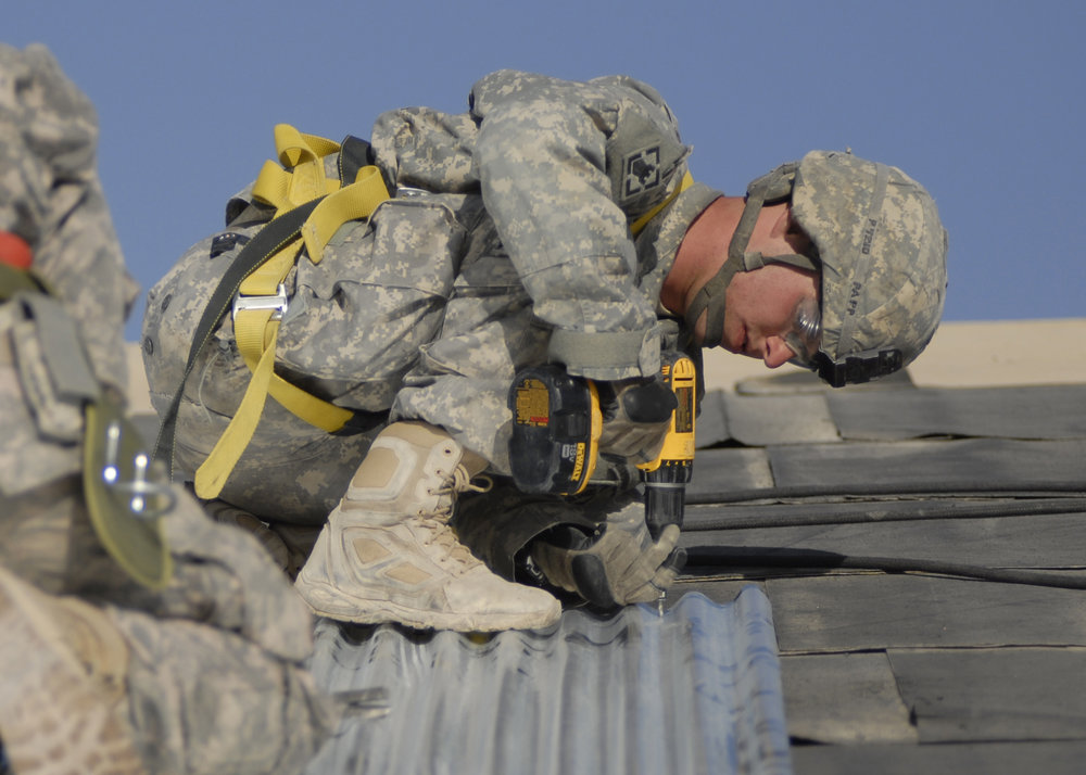 Military Construction - TRansition to Field Services Roles