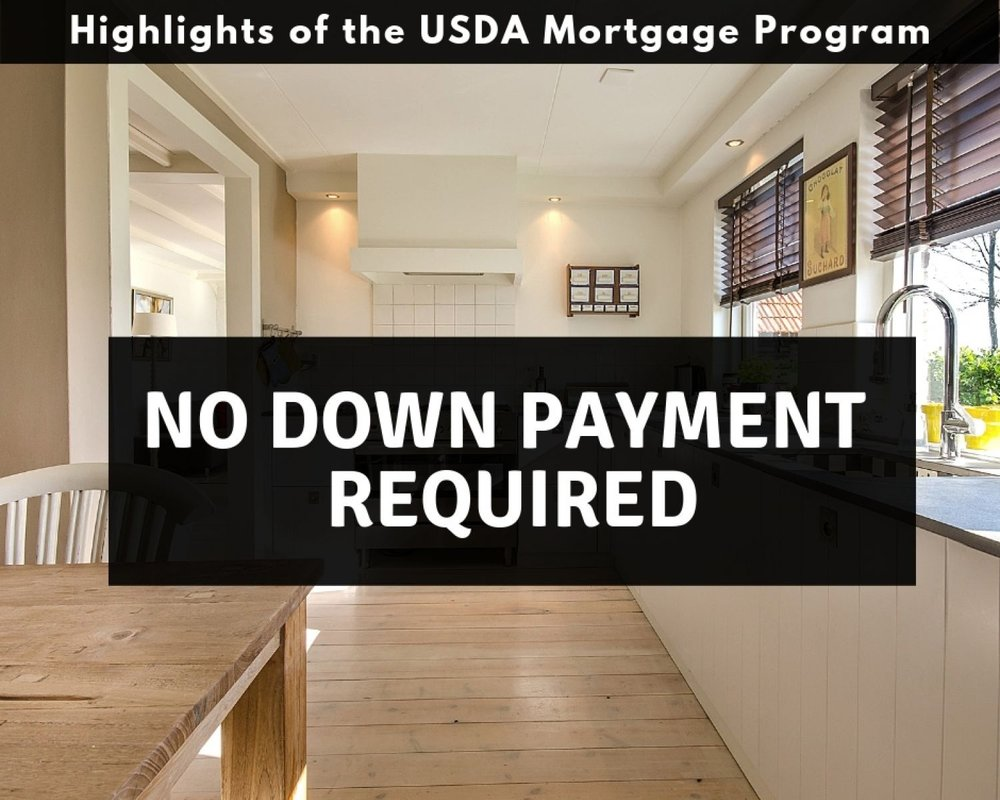 No Down Payment - Pennsylvania USDA Mortgage