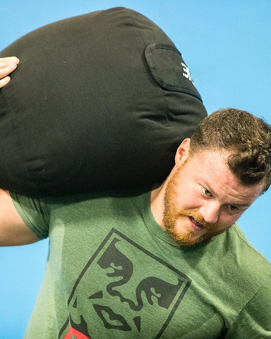 """Cean Olsen - """"Pick things up and put them down""""Strongman Coach"""