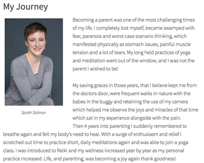 Sarah on Brilliant-Beings.co.uk - Website