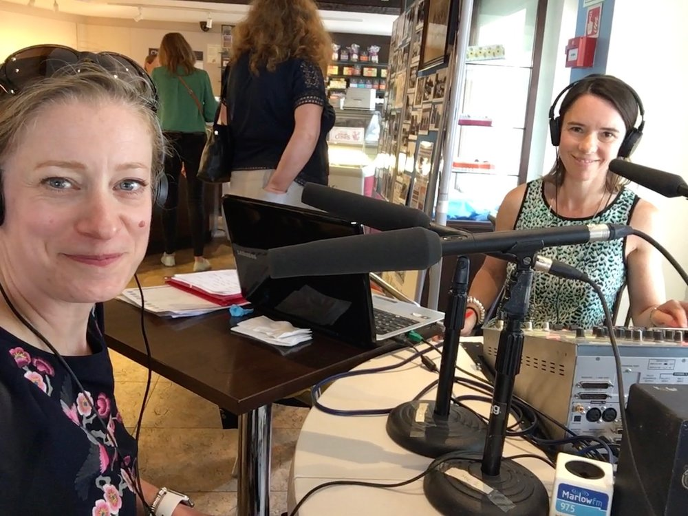Carola Moon at MarlowFM's The Buzz - Radio Interview with Melissa Gale 4.jpg