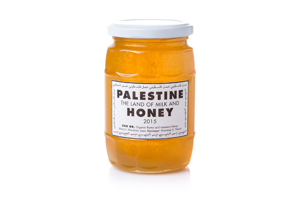 'Palestine, the land of mild and honey', Montaser Saad, Rudy Luijters